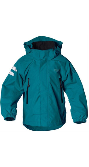 Isbjörn Junior Tornado Hard Shell Jacket Petrol